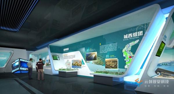 企业展厅设计上怎么营造空间美感呢?