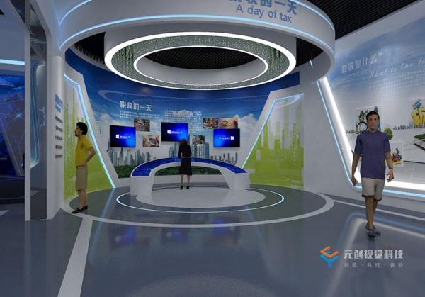 小型数字展厅设计如何体现高大上呢?