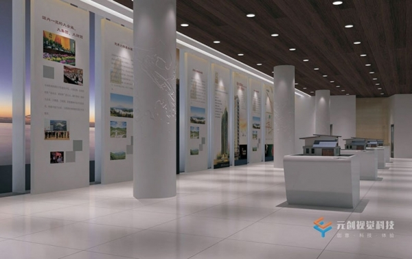 数字展厅怎样设计会更有吸引力?
