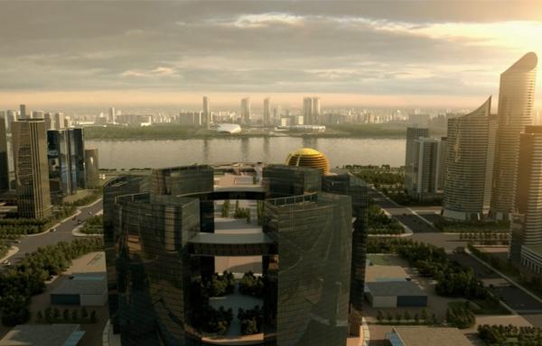 地产建筑动画