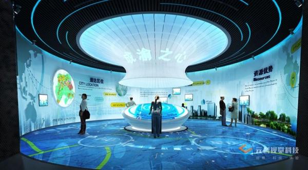 天津内江城市规划展览馆