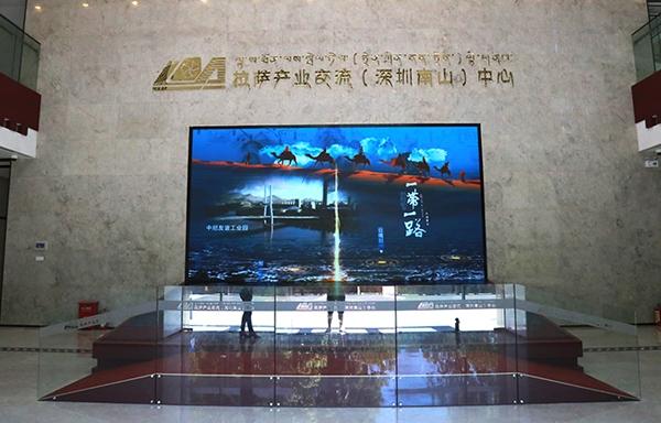 武汉拉萨经开区(南山中心)数字展厅